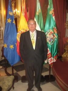 Fotografía en el día de la Conmemoración de la Constitución Española de 1812 en Cádiz.