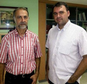 Aureliano Lairón y David Chordà.