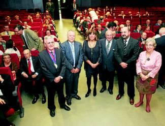 José Roldán, José Cosano, Ana Padilla, Joaquín Criado, Manuel Torres y María José Porro. / Foto: JUAN MANUEL VACAS