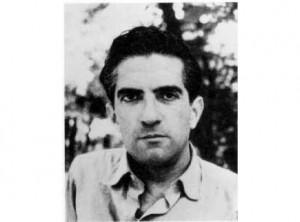 El poeta Blas de Otero en la época de su estancia en Leganés.