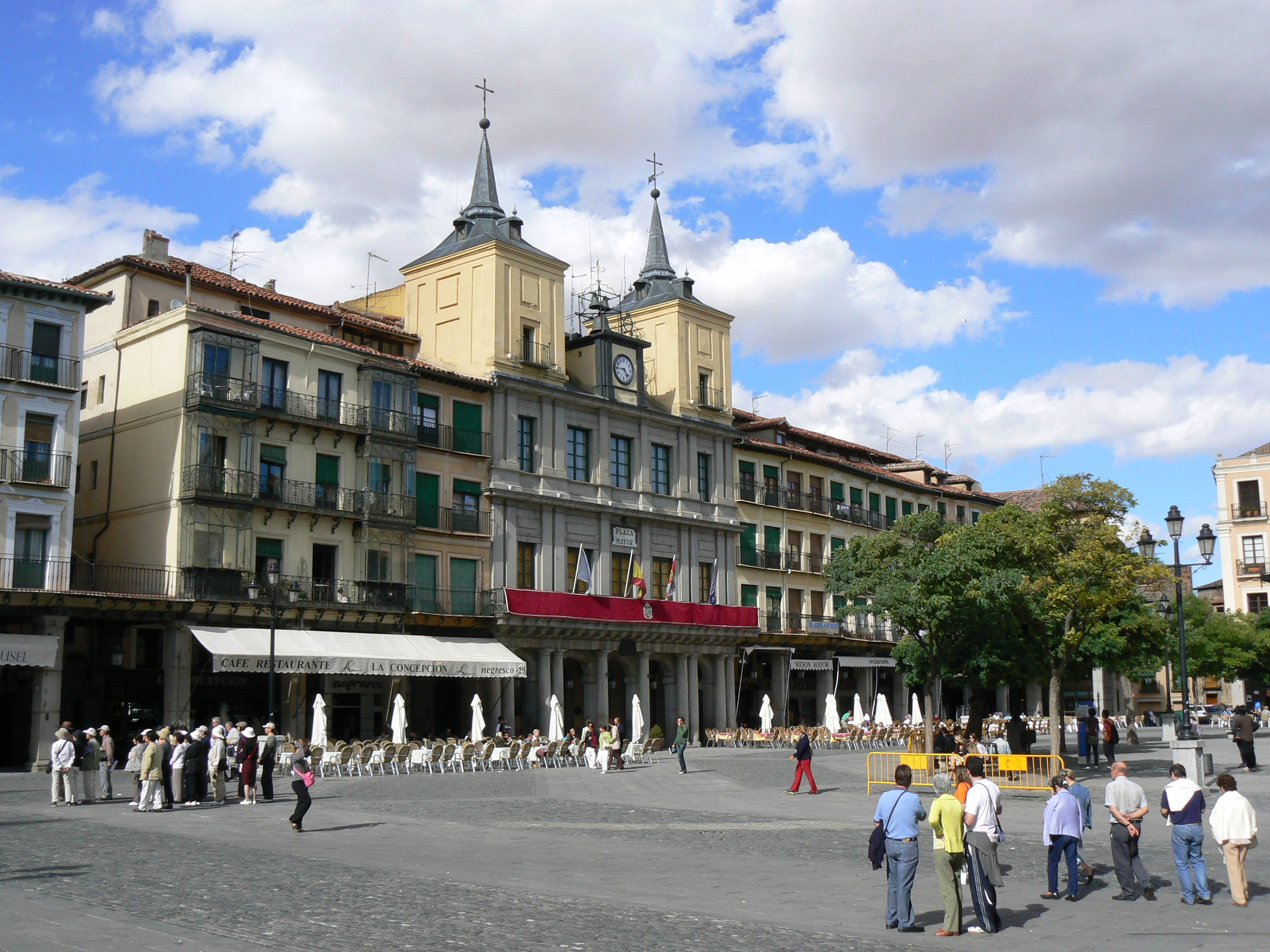 Plaza Mayor de Segovia.