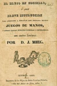 Portada de uno de los libros del Tio Cigüeño (de Juan Mieg).