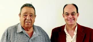Antonio Abreu y José Antonio Ramos Rubio, en la presentación del libro. / Foto:S. G.