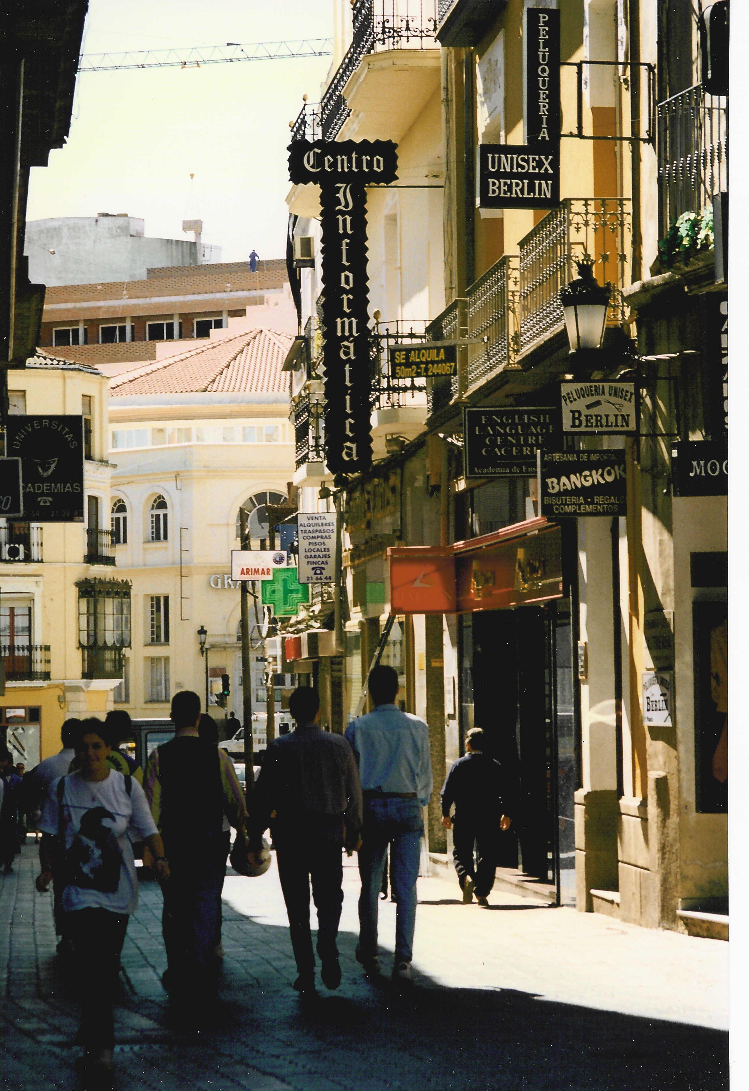 Calle Pintores (Cáceres).
