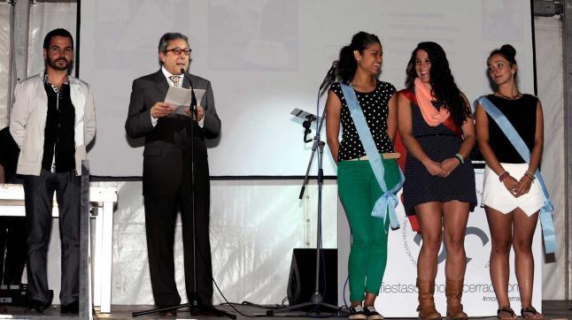 Por la izquierda, José Armas, Pepe Monteserín, Yeraldinne Cueria, Nuria Fernández y Nadia Gayo. / nacho orejas