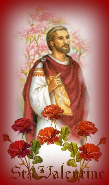 san valentn santo de amor