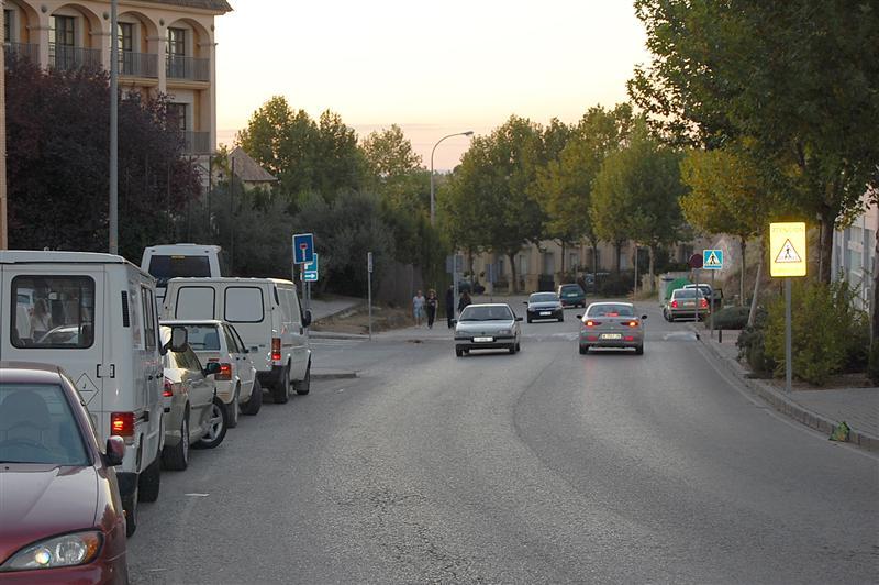 Vista general de la Calle Cronista Juan de la Torre. / FOTO: Fco. Sala Aniorte