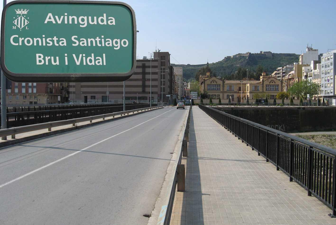Sagunto (Valencia). Avgda. Cronista Bru i Vidal.