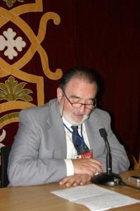 Antonio Luis Galiano Pérez, Cronista Oficial de Orihuela (Alicante). / Foto de archivo.