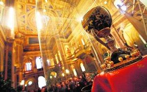 El Santo Cáliz, en una imagen de archivo. :: MIKEL PONCE