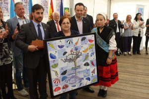 La ganadora, Blanca Riva. :: J. P.