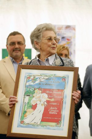 Zaida Corrales, 'Gran Maestre'. :: P. C.