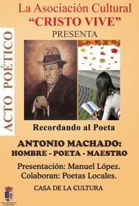 CARTEL ANTONIO MACHADO