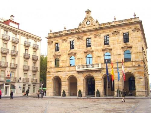 Ayuntamiento de Gijón (Asturias).