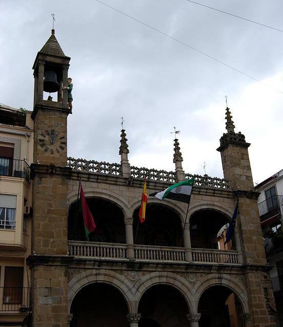 Ayuntamiento de Plasencia (Cáceres).