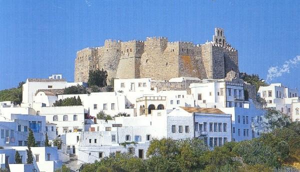 Isla de Patnos (Grecia).