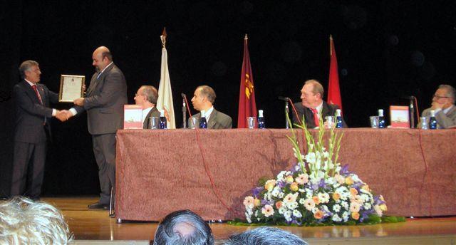 Entrega del Título de Cronista Oficial de Cabezo de Torres (Murcia).