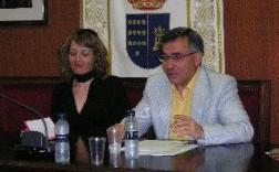 Ricardo Montes Bernardez, Cronista Oficial de las Torres de Cotillas (Murcia), durante la celebración de las Jornadas.