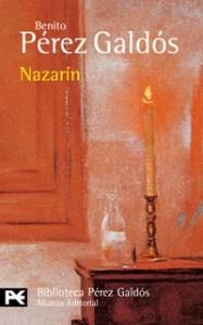 Portada del libro de Don Benito Pérez Galdós. Nazarín