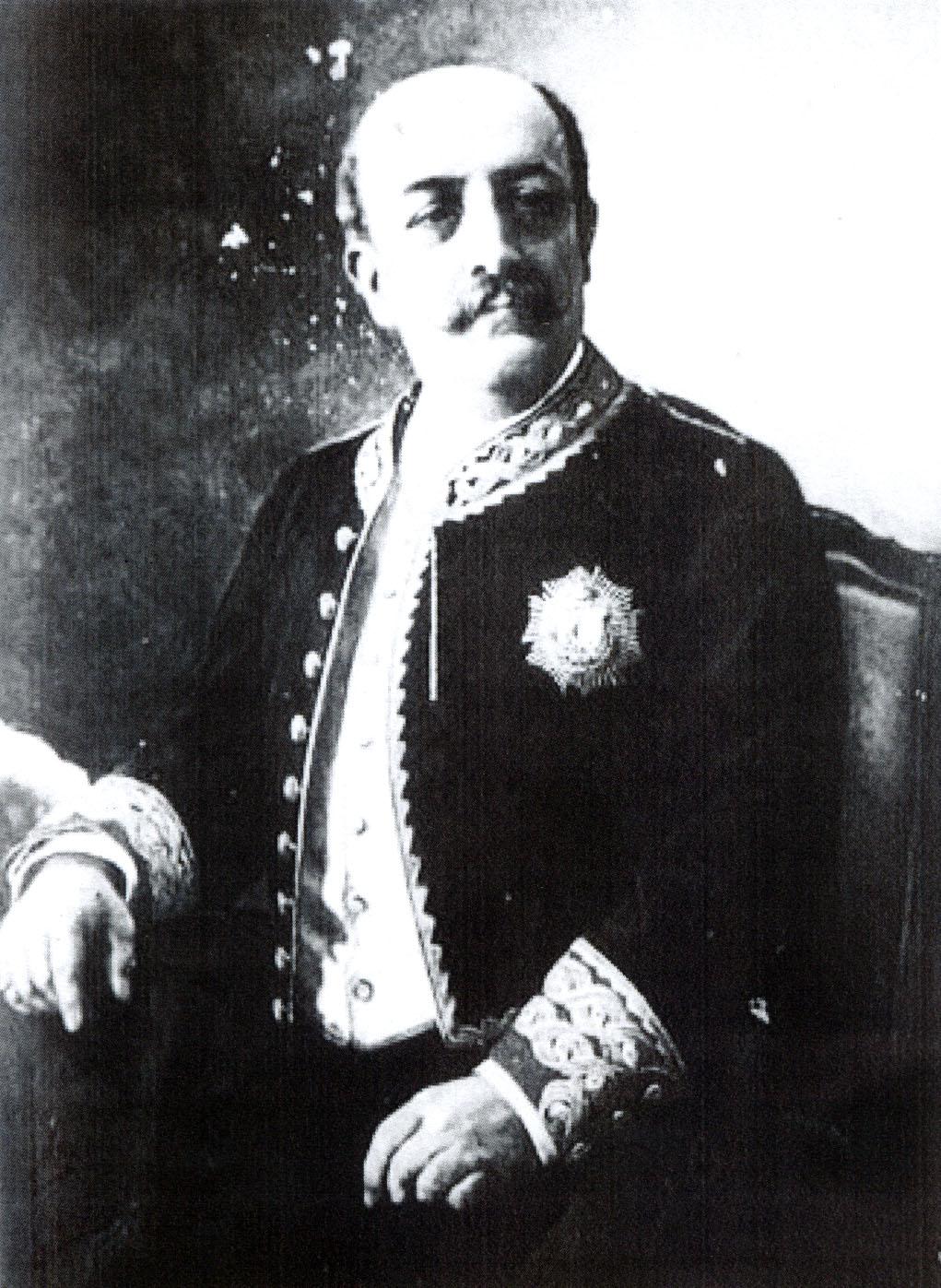 Trinitario Ruiz Capdepón, ministro de la Gobernación.