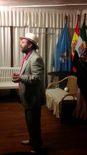 EL ACTOR Y POETA RAFAEL DE DIOS (RADA DEDI) PRESENTÓ ESTE FIN DE SEMANA EN  LA SEDE DE LA CASA DE EXTREMADURA SU ESPECTÁCULO SOBRE U201cLA HISTORIA DE  MADRIDu201d Y ...