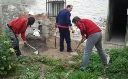 Miembros de la Coamhi trabajan en las dependencias. / F. M.