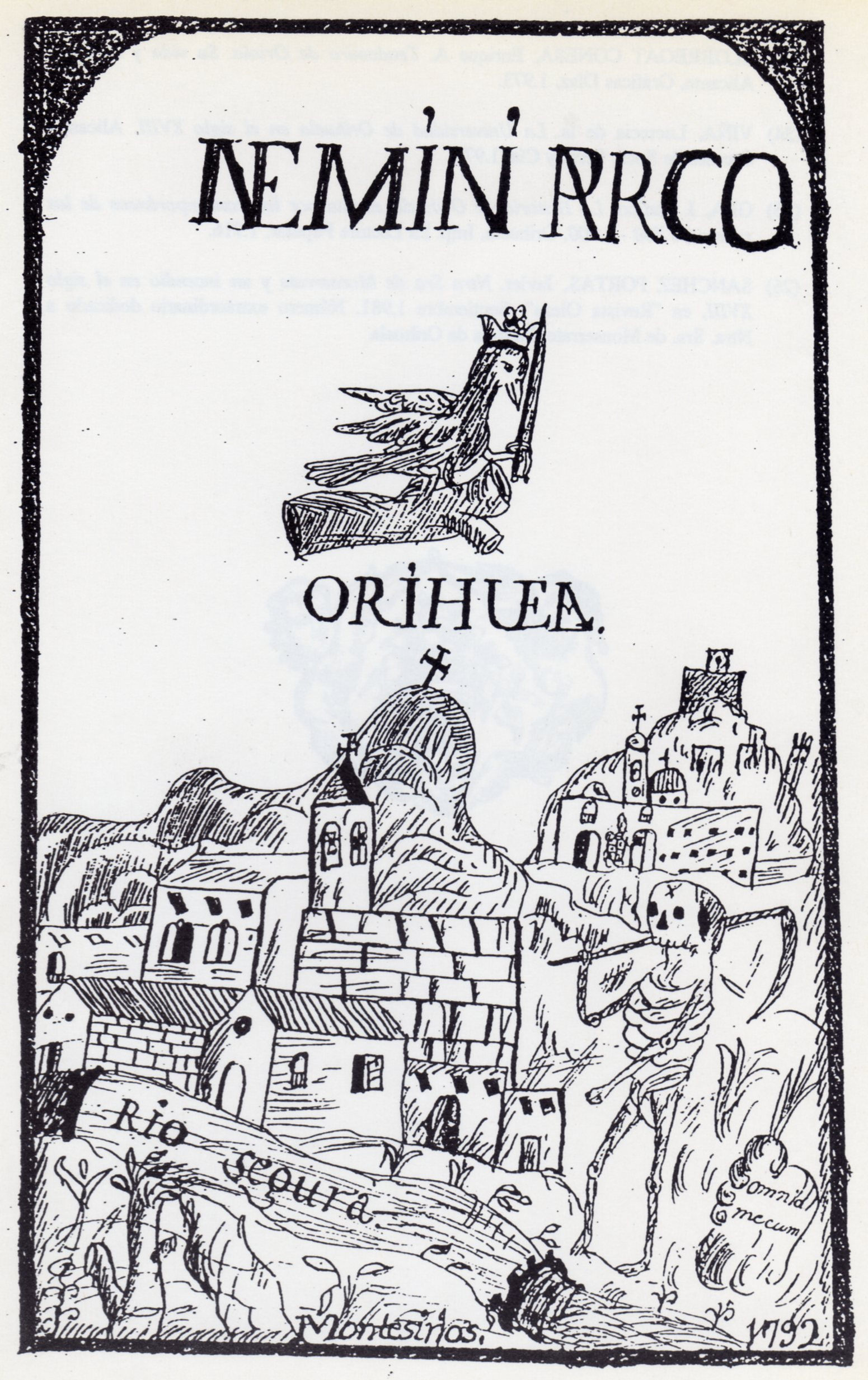 "Archivo Caja Rural Central Orihuela. J. Montesinos, ""Compendio Histórico Oriolano""."