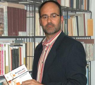 Gabriel Segura Herrero, cronista oficial de Elda (Alicante).