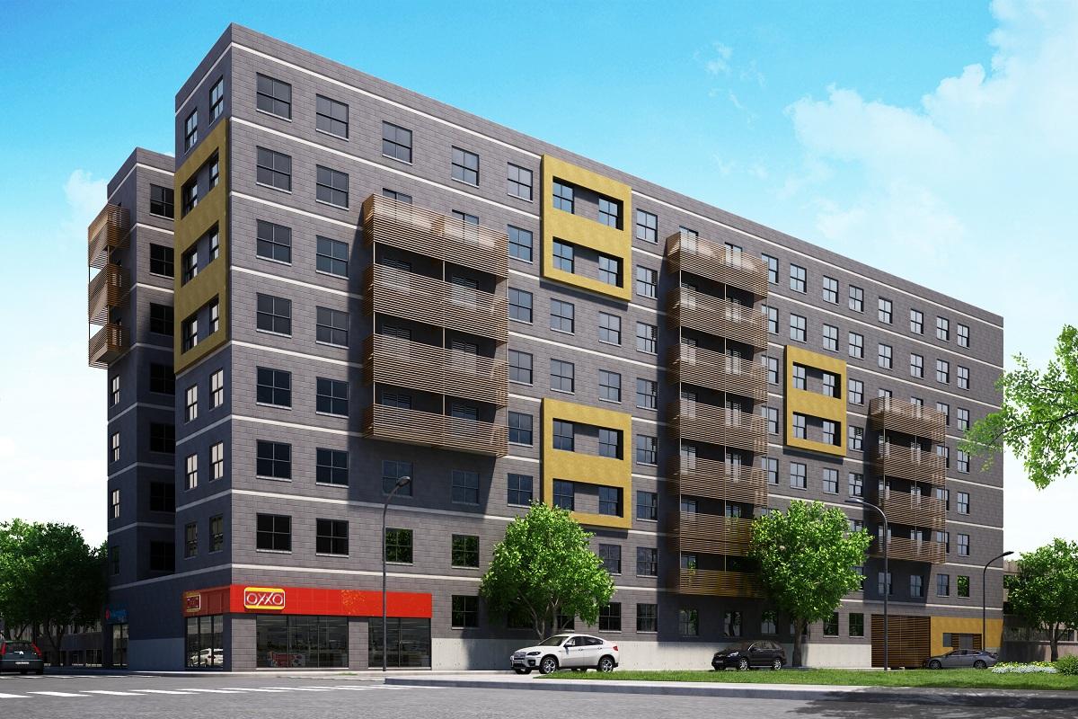 Segregaci n for Edificios modernos de departamentos