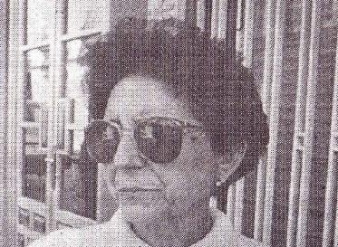 Dª. Águeda Peñas Chamorro, Profesora de E.G.B. y Miembro de la Comisión.
