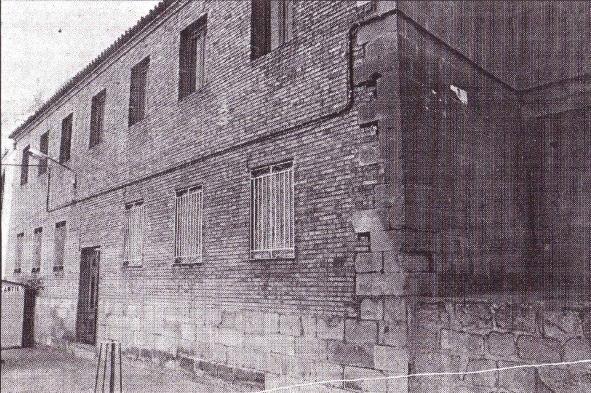 Casa Parroquial de Bedmar en 1989.