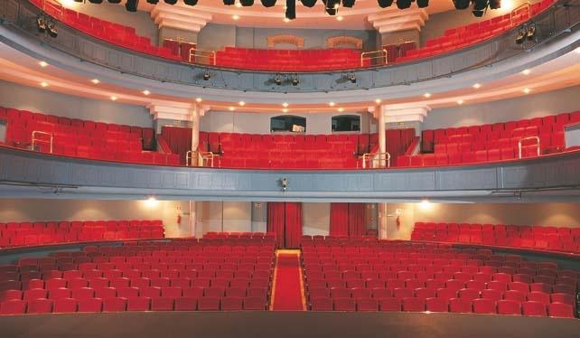 Patio de butacas del Teatro Principal de Burgos, lugar donde se inaugurará el congreso.