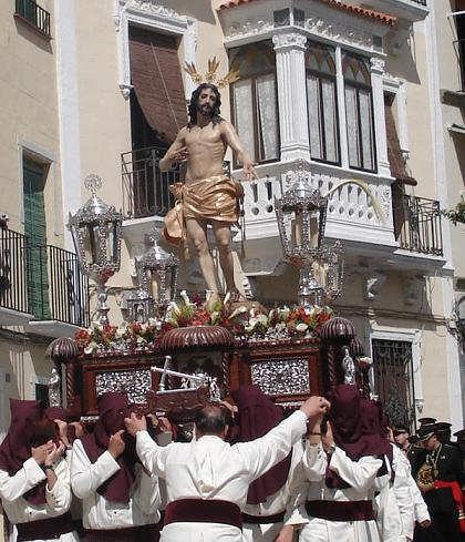 Imagen del Señor Resucitado de Espejo (Córdoba).