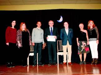 La alcaldesa participó en la entrega de premios. - Foto:L.A.RUIZ