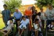 Bienvenida de los niños saharauis a Andújar a principios del mes de julio. / IDEAL
