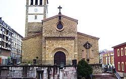 Iglesia parroquial de San Andrés en Nava (Asturias).