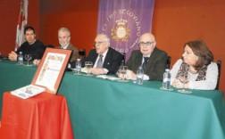 Mesa presidencial del acto celebrado en Madrid. / J.C.L.