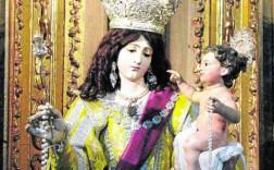 La talla del Niño que fue robada en el año 2013. / J. F. Robles