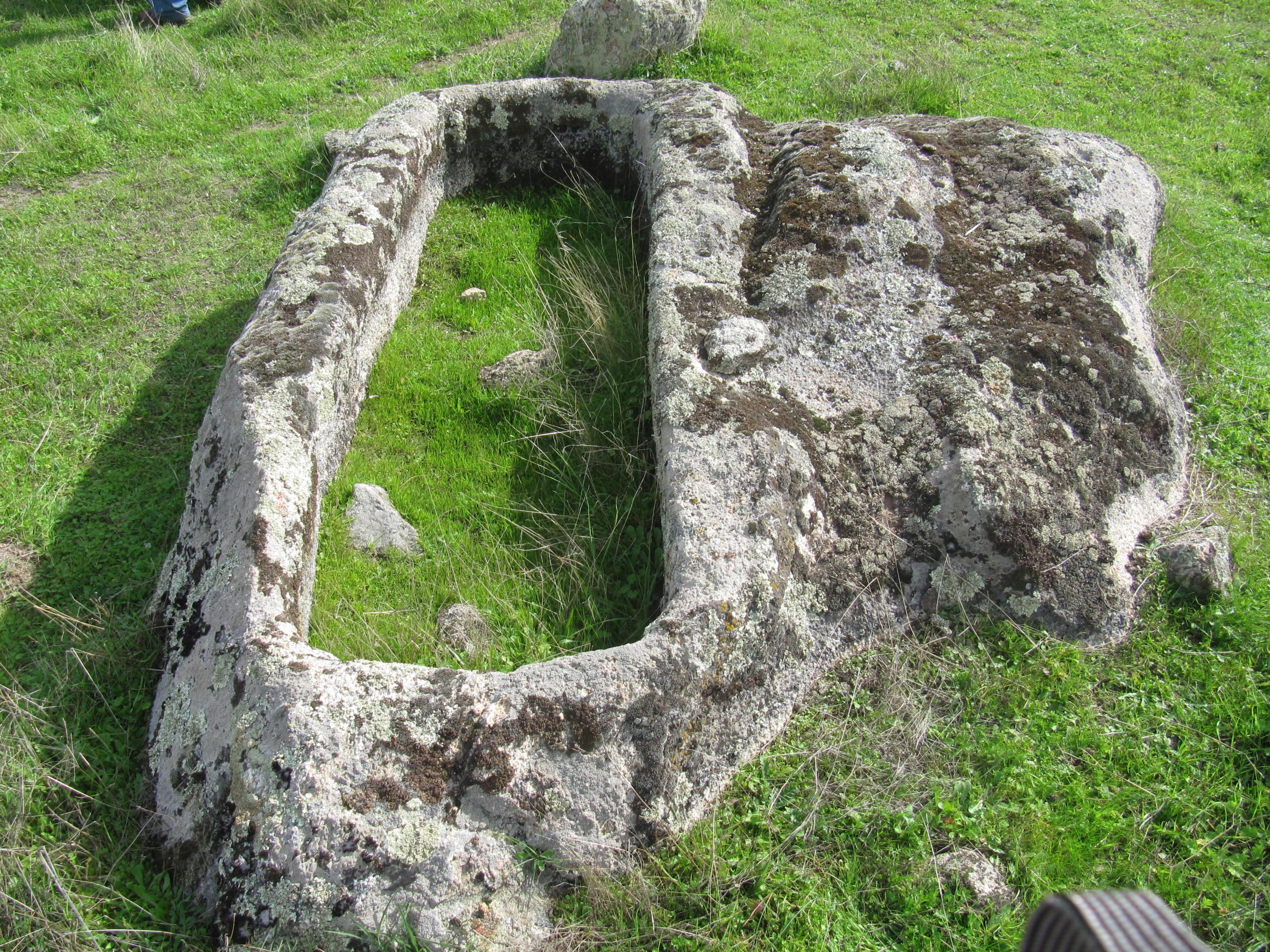 Tumba de La Zafrilla.