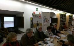Fotografía de la reunión que se mantiene esta mañana.