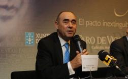 Ceferino de Blas, en una presentación en la UIMP. / Foto: Faro de Vigo