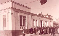Edificio del Ayuntamiento. Años veinte del pasado siglo. / Foto: A. Darblade – Colección Fco. Sala