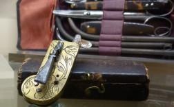 Museo Naval Madrid. Instrumento para hacer sangrías (siglo XVIII). / Foto A.L.Galiano.