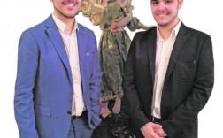 Sebastián y Juan Martínez Cava. / V. Vicéns / AGM
