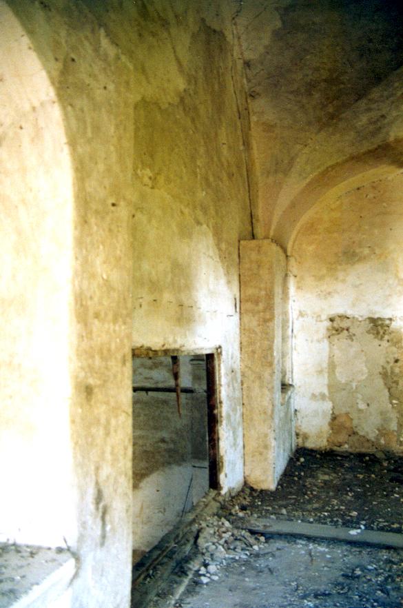 Estado en el que se encontraba la iglesia, antes de las obras.