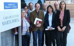 Carmen Vega, Carmen Palacio, Saúl Vega, Alejandro Álvarez, Leocadio Redondo, María José Rey, José María Osoro y Desiree Carrio. / NOSTI