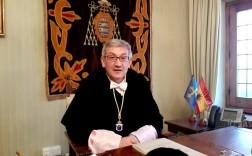 El rector de la Universidad de Oviedo, Santiago García Granda.