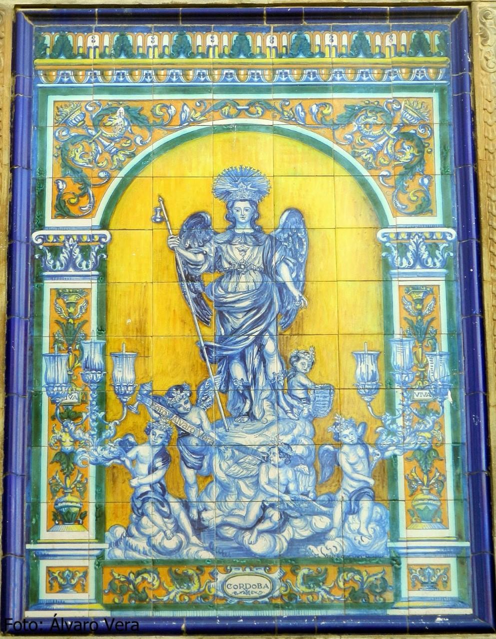 El azulejo de san rafael de la calle diario de c rdoba for Casa de azulejos cordoba