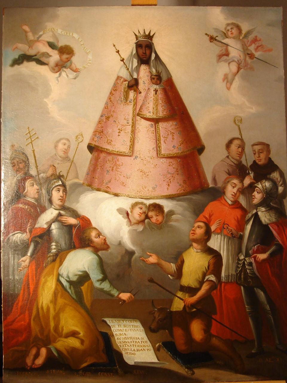 Gil Cordero El Vaquero De La Virgen De Guadalupe