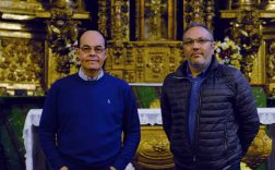 Pie de Foto: Los autores del libro José Antonio Ramos Rubio y Óscar de San Macario Sánchez